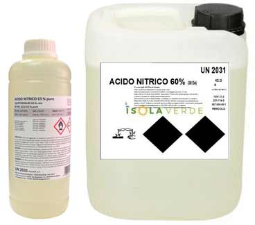 acido nitrico fertirrigazione